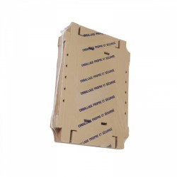 50 Caisses de regroupement Kraft Brun. 64x42x9 cm