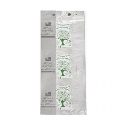 200 Sachets imprimés OXO biodégradables Vert/Blanc.