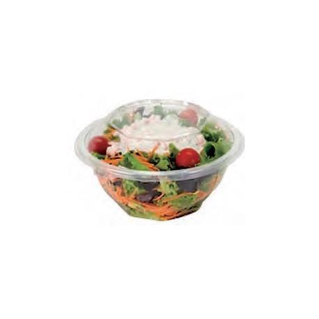 "50 Bols ""Salade"" 370 cc avec couvercle."