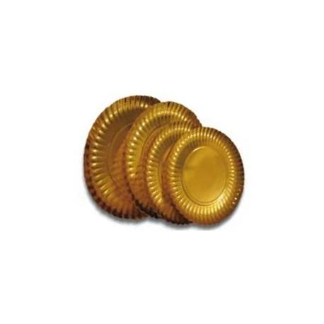 50 Assiettes or simple face 21 cm.