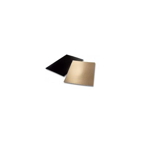 25 Plaques Angle droit or/noir 60 x 40 cm.