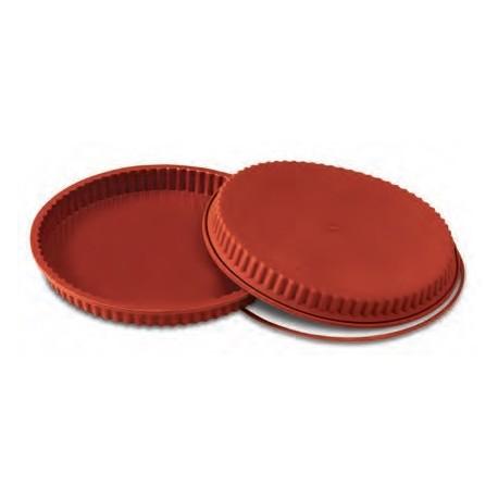 Moule à tarte en silicone 24 cm.