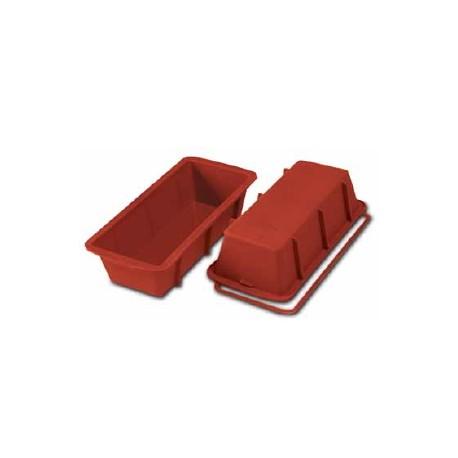 Moule à cake en silicone 24 cm.