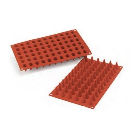 Moule en silicone 66 mini cônes