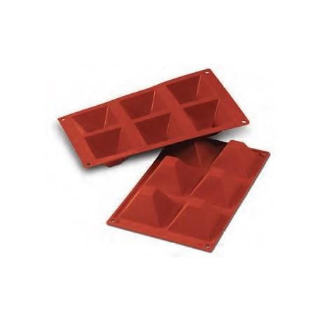 Moule en silicone 6 pyramides
