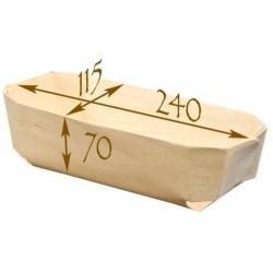 100 Pani-moule Archiduc. Moule de cuisson en bois panibois.