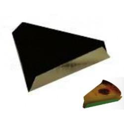 200 Fonds pliés triangle intérieur noir 9-11 cm.