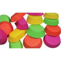 1000 Caissettes 4 couleurs rondes T1201 F70.