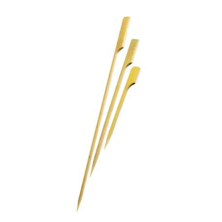 200 Brochettes bambou golf 9 cm.