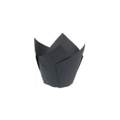 200 Caissettes noires 50 x 80 mm.