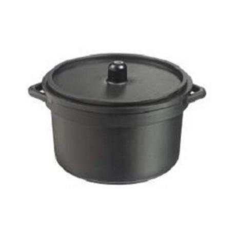 30 mini cocotte + couvercle - Couleur noire 90 ml.