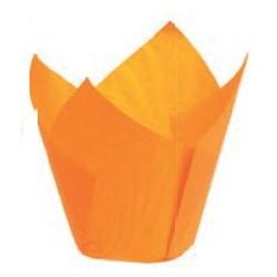 200 Caissettes oranges 50 x 80 mm
