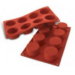 Moule en silicone 8 cylindres.