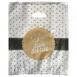 100 sacs galette N°30 kraft blanchi