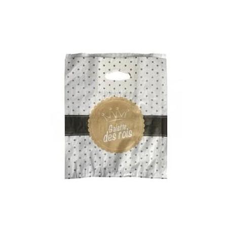 100 sacs galette N°26 kraft blanchi
