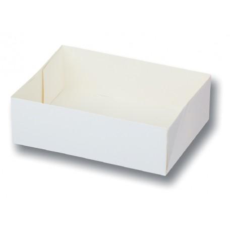 100 Caissettes sans couvercle. 14x10x5 cm